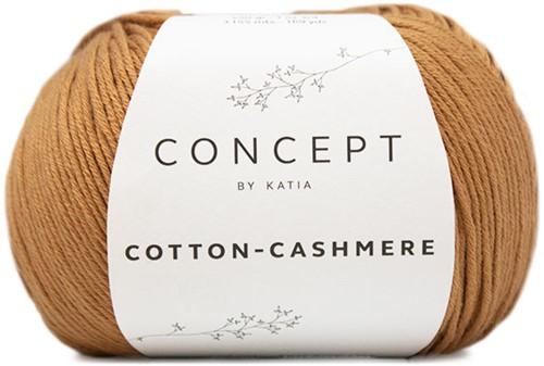 Cotton-Cashmere Sweater Breipakket 1 50/52 Brown