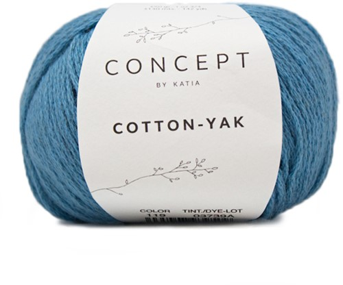Cotton-Yak Top Breipakket 2 38/44 Blue