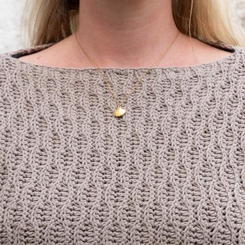 Haakpatroon Yarn and Colors Deco Waves Sweater