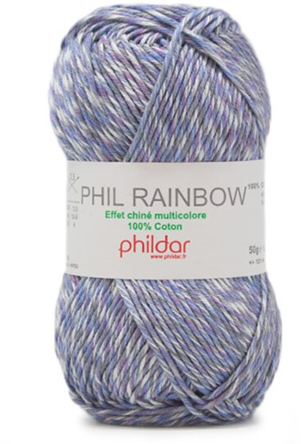 Phildar Phil Rainbow 2456 Denim