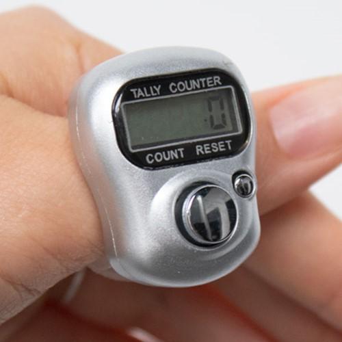 Digitale Toerenteller Zilver