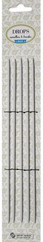 Drops Basic Kousenbreinaalden Aluminium 20cm 2,0mm