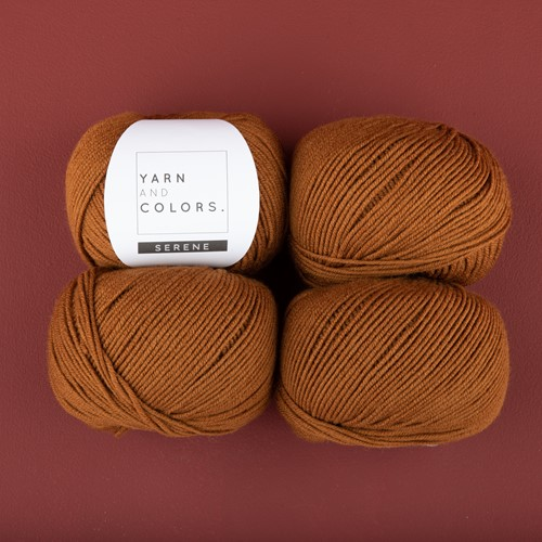 Yarn and Colors Soft Serene Sokken Haakpakket 2 Satay