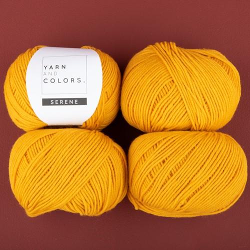 Yarn and Colors Soft Serene Sokken Haakpakket 1 Mustard