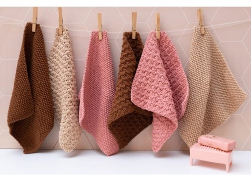 Brei-/haakpatroon Yarn and Colors Clean Cloths