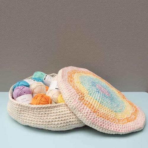 Yarn and Colors Rainbow Basket Haakpakket 2 Pastel