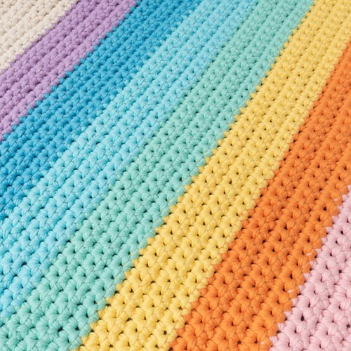 Yarn and Colors Rainbow Rug Haakpakket 2 Pastel
