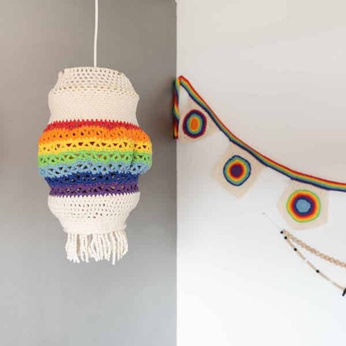 Yarn and Colors Rainbow Lamp Haakpakket 1 Colorful