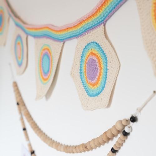 Yarn and Colors Rainbow Flag Line Haakpakket 2 Pastel