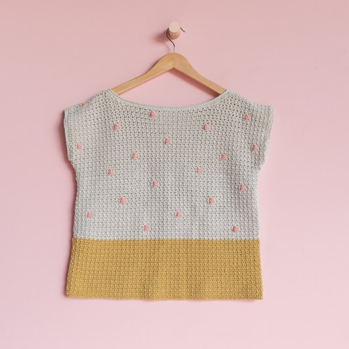 Yarn and Colors 'Baby You Look Fabulous' Top Haakpakket XL 1 Birch