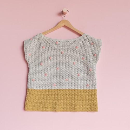 Yarn and Colors 'Baby You Look Fabulous' Top Haakpakket L 1 Birch