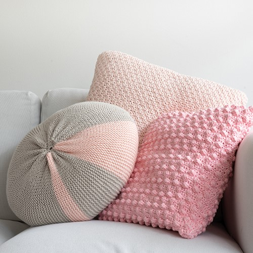 Yarn and Colors Candy Comfy Cushion Breipakket 043 Pearl / Birch