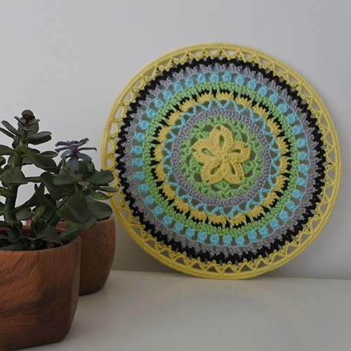 Haakpatroon Mandala Floribiza