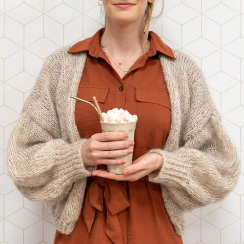Breipatroon Yarn and Colors Cloud Cardigan Knit