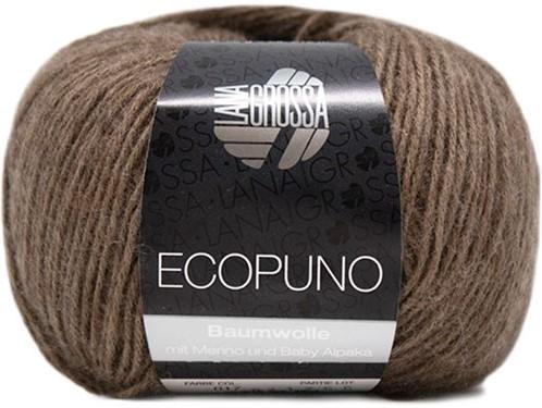 Kukka Sweater Breipakket 2 Dark Brown 34/36