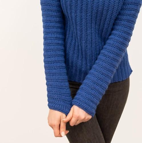 Haakpatroon Elegant Brunch Time Sweater