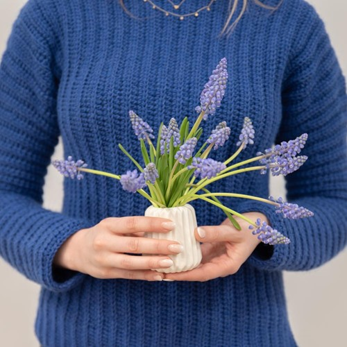 Yarn and Colors Elegant Brunch Time Sweater Haakpakket 2XL Navy Blue