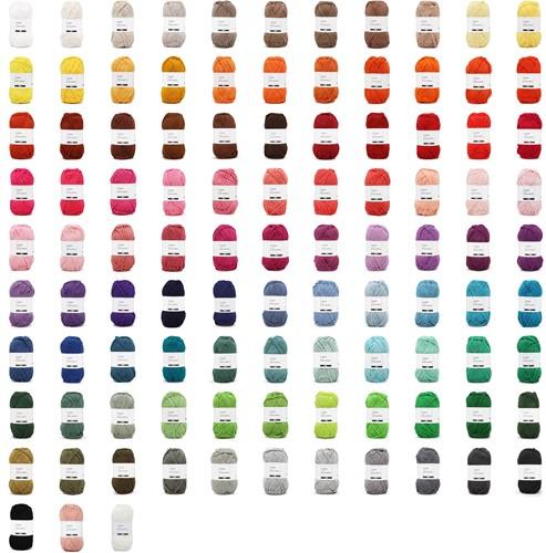 Yarn and Colors Epic Alle kleuren pakket