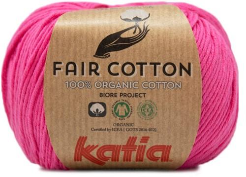 Fair Cotton Zomertop Breipakket 1 46/48 Pink