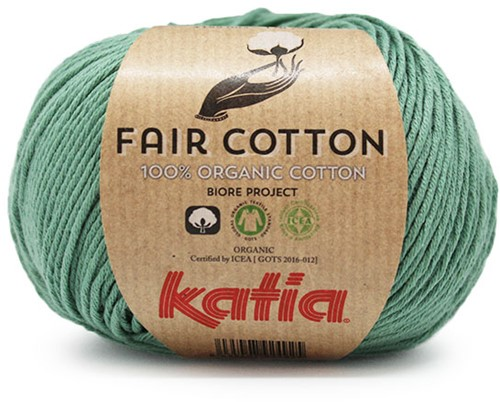 Fair Cotton Zomertop Breipakket 2 42/44 Mint-Green