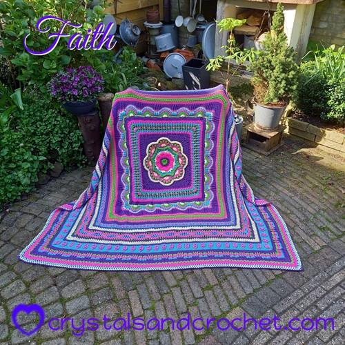 Faith Blanket CAL Garenpakket 1 Confidence Special DK