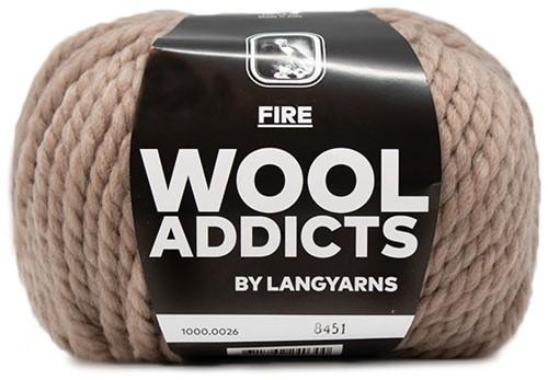 Wooladdicts Savage Saffron Muts Breipakket 2