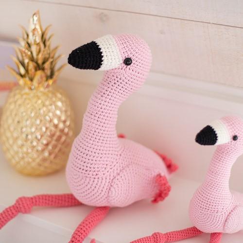 Haakpatroon Mixed Up Flamingo