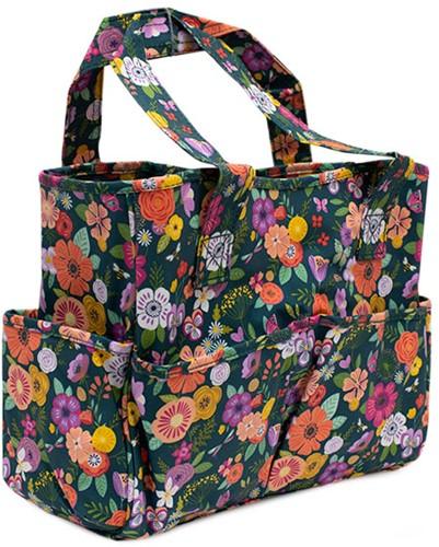 Hobbytas Floral Garden Teal