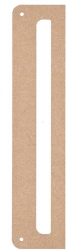 Durable MDF Wandhanger 25x5cm