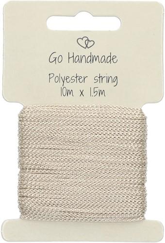 Go Handmade Polyester Koord 2 Beige