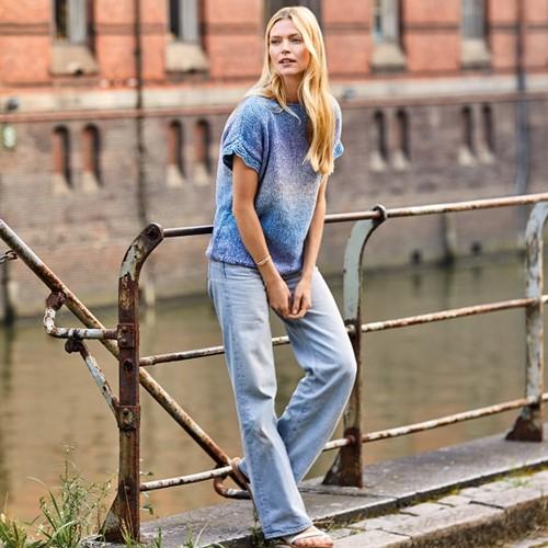 Amoroso Top Breipakket 1 40/44 Light gray / jeans / violet blue / gray
