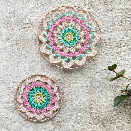 Haakpatroon Yarn and Colors Garden Party Mandala