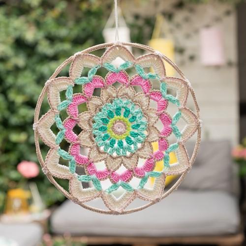 Yarn and Colors Garden Party Mandala Haakpakket