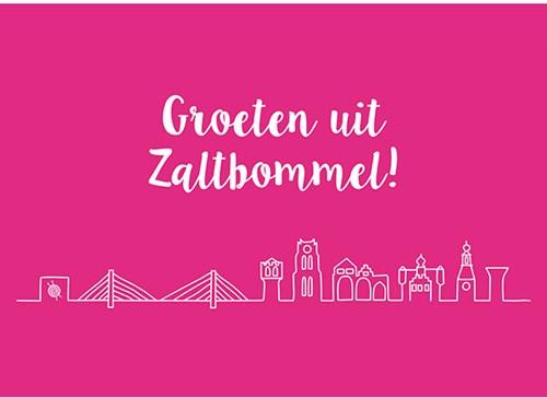 Wolplein Ansichtkaart - Groeten uit Zaltbommel!