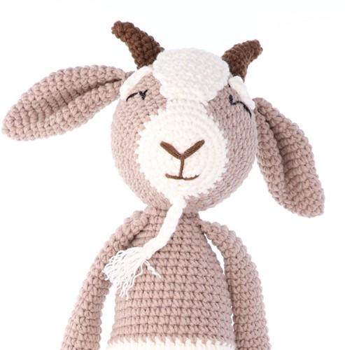 Haakpatroon Yarn and Colors Gus Goat