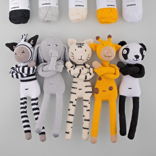 Yarn and Colors Zoo-Animals Haakpakket