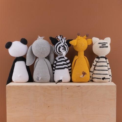 Haakpatroon Yarn and Colors Pip Panda