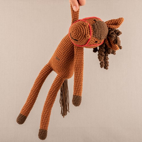 Haakpatroon Yarn and Colors Hank Horse