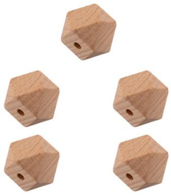 Durable Houten Hexagonkralen 5 stuks 10mm