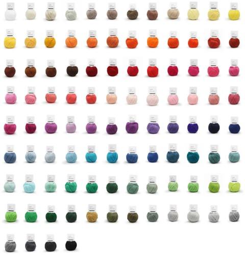 Yarn and Colors Must-Have Minis 100 kleuren pakket