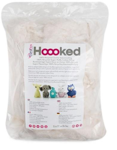 Hoooked 100% Recycled Katoen Vulling 250 Gram Pearl