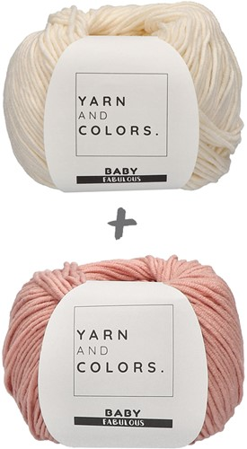 Yarn and Colors Classic Jumper Haakpakket 1 Old Pink S