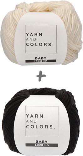 Yarn and Colors Classic Jumper Haakpakket 2 Black XL