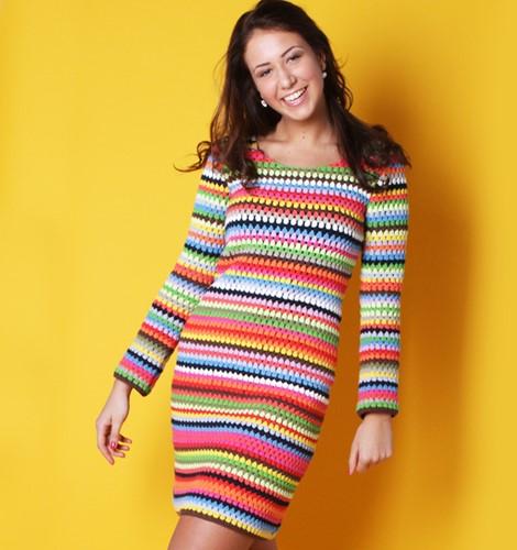 Haakpatroon Ibiza jurk