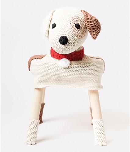 Krukhoes Gevlekte Hond Haakpakket
