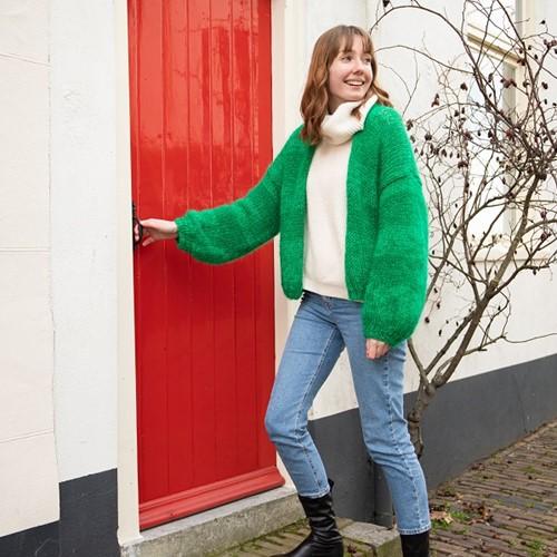 Bernadette Vest Karin Breipakket 1 Green
