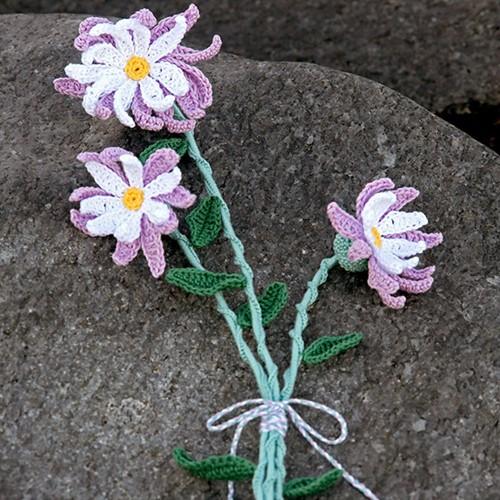 Haakpatroon Bloem Rosemary Flowers
