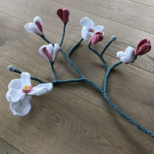 Haakpatroon Magnolia Tak