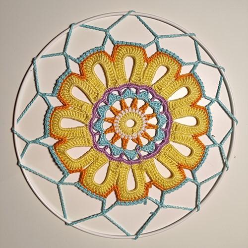 Haakpatroon Mandala Zon