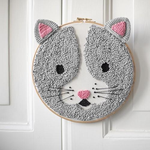 Punchpatroon Wolplein Kattenkop